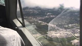 Flying the Cessna 177 Cardinal Into The Clouds After The Storm