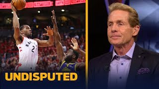 Kawhi Leonard's Game 2 performance deserved a 'C' – Skip Bayless | NBA | UNDISPUTED