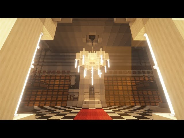 Chandelier Build Tutorial You, How Do You Make A Chandelier In Minecraft