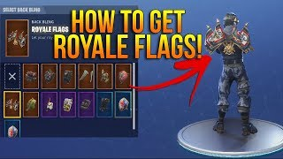 *NEW* HOW TO GET THE 'ROYALE FLAGS' BACK BLING FREE! Fortnite Battle Royale!
