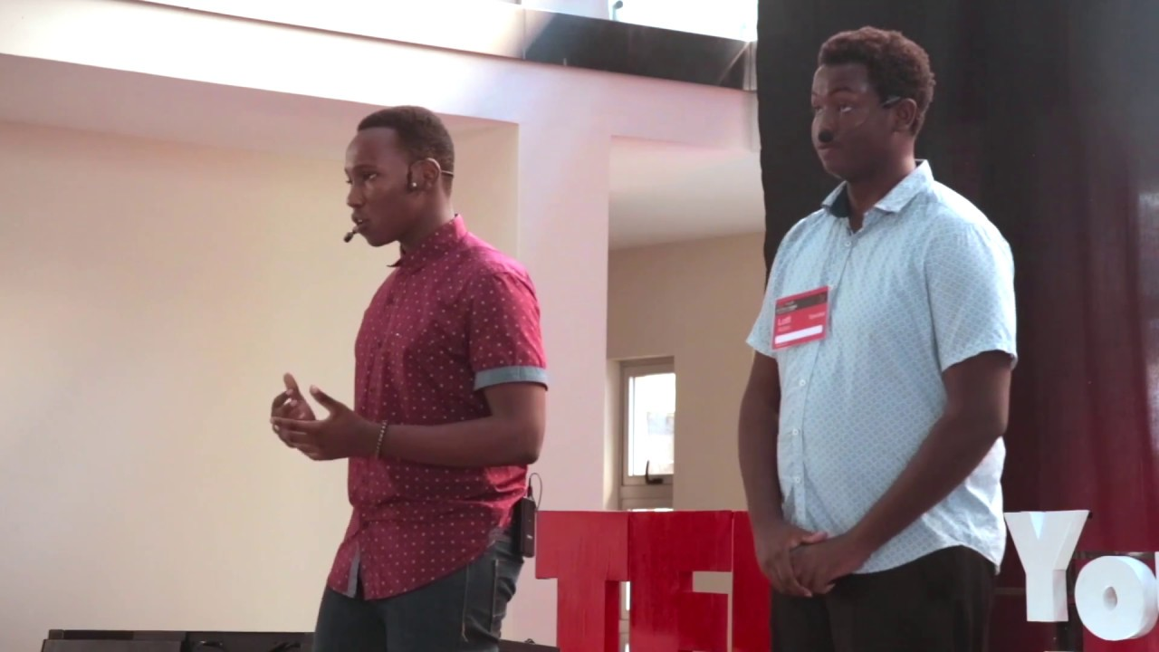 Why artists are never content with their work | Gregory Wahome & Lotfi Aden | TEDxYouth@AKAMombasa
