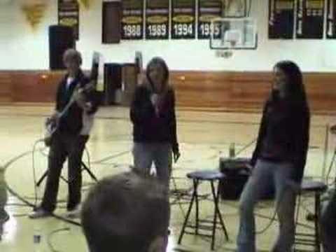 Ananeosis performs at Shoreland Lutheran High School