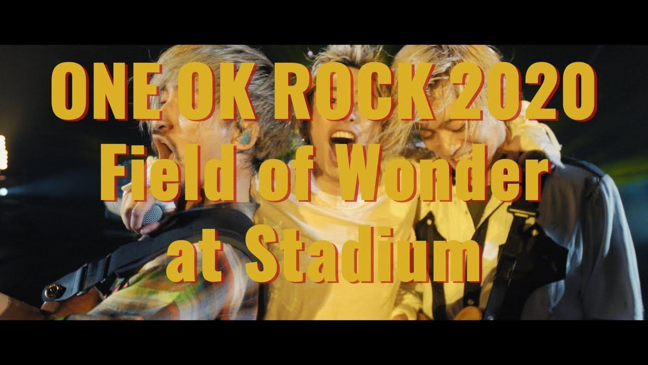 "ONE OK ROCK - Live DVD & Blu-ray ""Field of Wonder at Stadium"" [Teaser]"