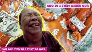 Người Đàn Bà Giấu Mặt Mua 8kg Cua Hấp Và Tặng Dì 3 500 Đô Mỹ $$