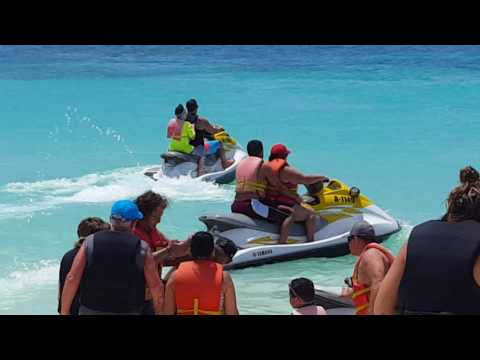 Jet Skies in Aruba 2016