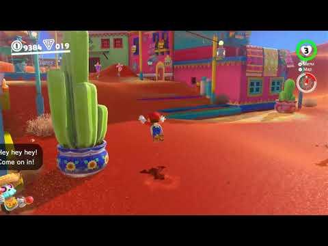Genki Arcade capture demo of Super Mario Odyssey