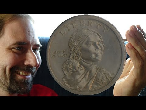 "USA Native American Dollar 2011 P ""Wampanoag Treaty"" Rotating"