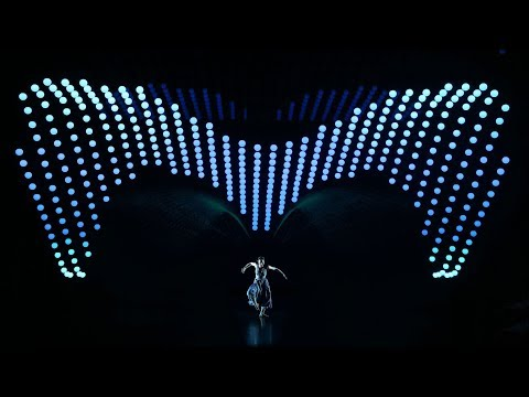 KINETIC LIGHTS - 2047 APOLOGUE - a concept performance by Zhang Yimou featuring 640 kinetic units