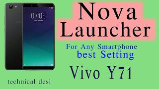 How to change launcher in Vivo mobile / i'm hacker man