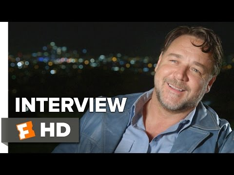 The Nice Guys Interview - Russell Crowe (2016) - Comedy HD