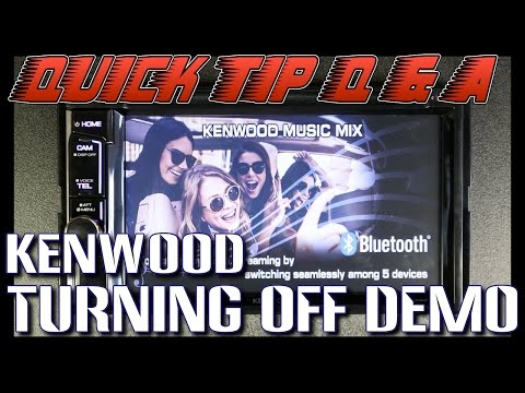How to do turn the demo mode off on your new Kenwood radio