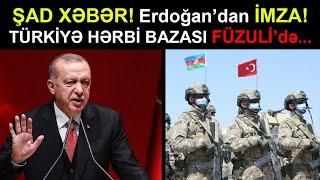 Erdoğandan Rusiyanı ŞOK EDƏN MESAJ! Füzulidə TÜRK HƏRBİ BAZASI...En son xeberler bu gun 2021
