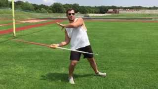 Javelin Throw | Proper Standing Throw Mechanics and Release | www.EliteThrowsCoaching.com