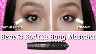 NEW BENEFIT BAD GAL BANG MASCARA REVIEW | First Impression