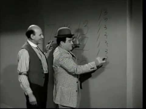 Image result for lou costello math