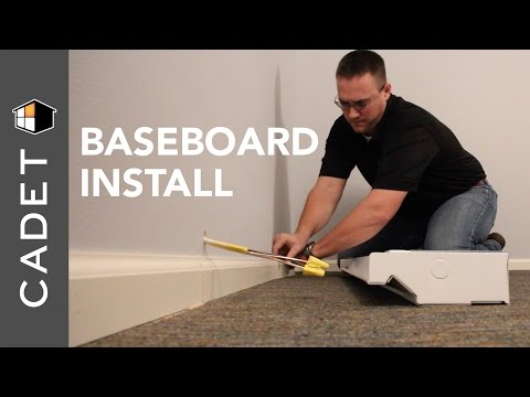 how to install a cadet electric baseboard heater cadet heat youtubeBaseboard Heating System Wiring Diagram #15