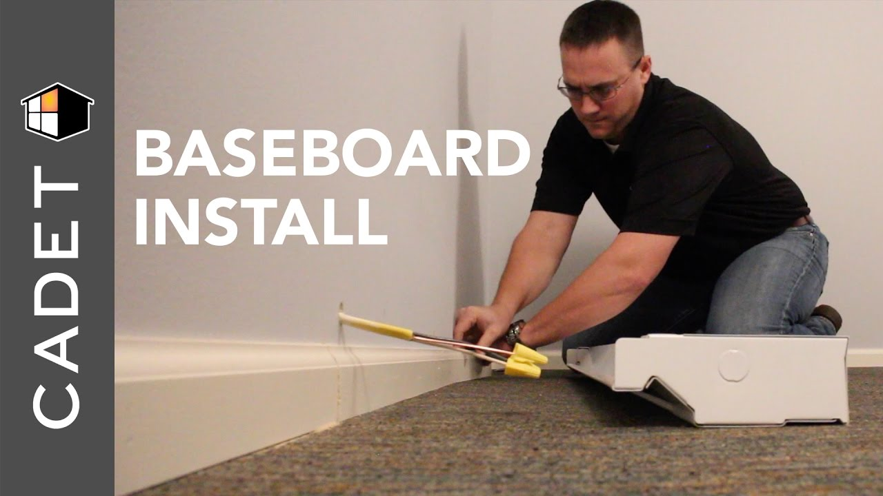 How To Install A Cadet Electric Baseboard Heater Heat Youtube Wiring Diagram