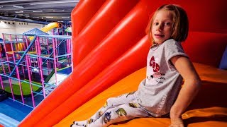 Slide Up: Indoor Playground Fun in Reverse