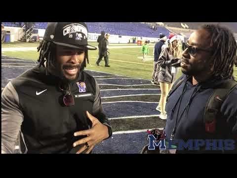 Deangelo Williams Begins To Talk  About The University Of Memphis Tigers And Their AAC Championship