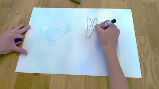 Der Kuckuck und der Esel - Ideen zum Zeichnen