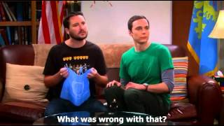 The Big Bang Theory - Sheldon and Wil Wheaton Fun with Flags--Subtitled
