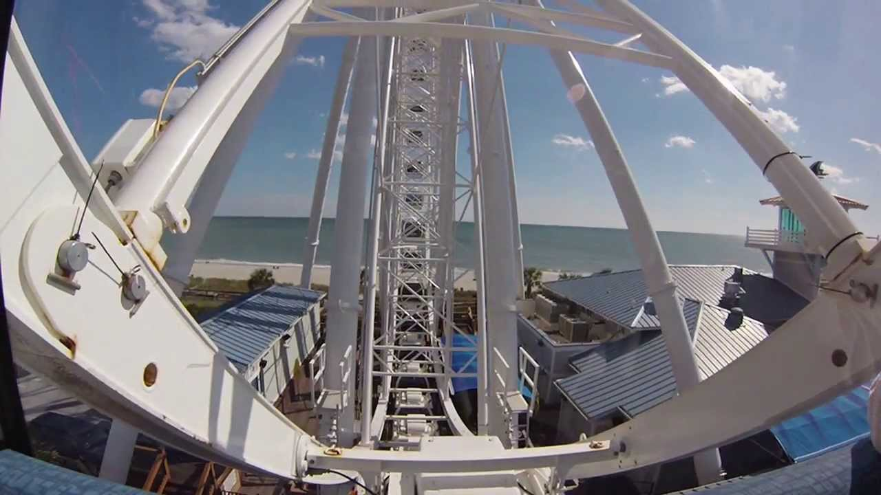 Riding The Skywheel In Myrtle Beach South Carolina Gopro Hero3 Silver Edition Camera You