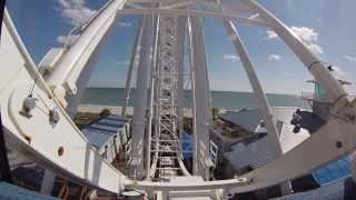 riding the skywheel in myrtle beach south carolina gopro hero3 silver edition camera