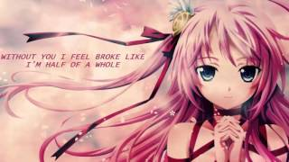 NIGHTCORE - Sad Song (lyrics)
