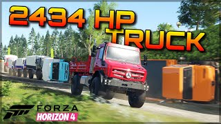 Here´s why the 2434hp Mercedes Unimog is the coolest car in Forza Horizon 4