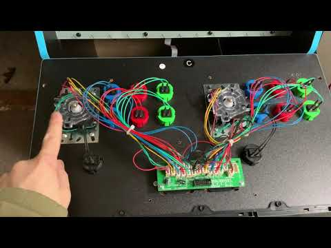 Arcade1up - Sanwa Buttons installed on Marvel Vs. Capcom Cabinet - Part 1 from Marko CG77