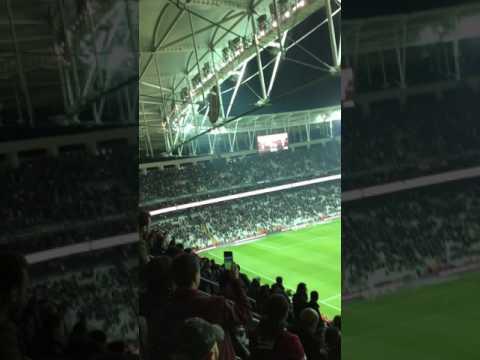 Vodofone Arena Maç Sonu BJK-GEN  Tribün çekim ve Testere Müziği