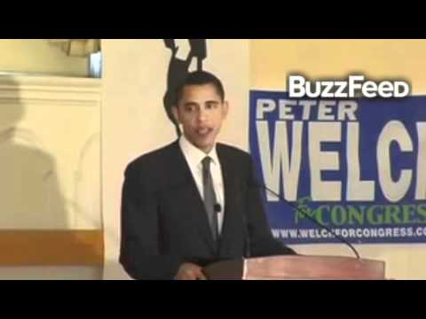 Barack Obama at March 2006 Fundraiser for Peter Welch/Bernie Sanders