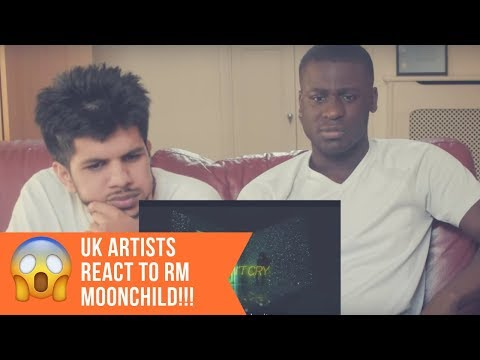 RM - Moonchild Reaction | UK ARTISTS REACT TO BTS!!!