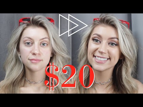 $20 MAKEUP CHALLENGE TUTORIAL *flawless results*
