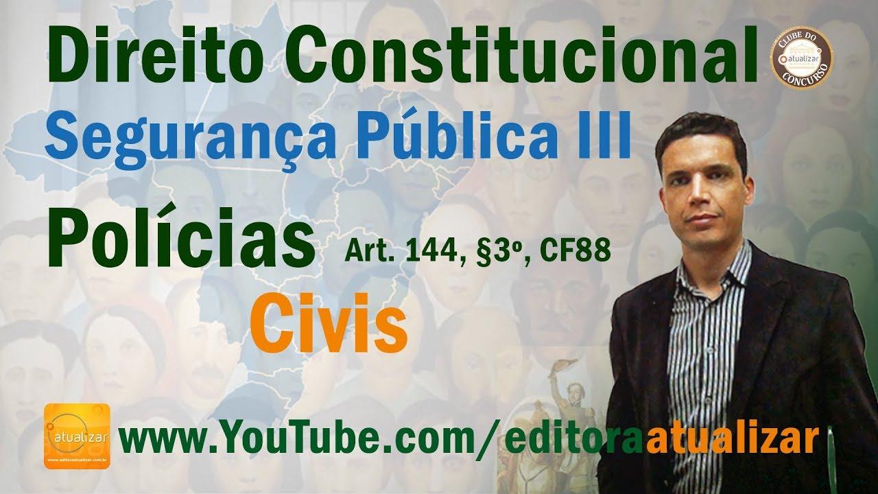 CF/88 - Art. 114, § 4º (Segurança Pública - Parte III)