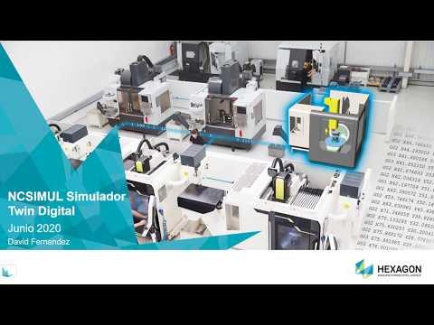 Simulación, Verificación y Optimización del Mecanizado | Webinar NCSIMUL Machine