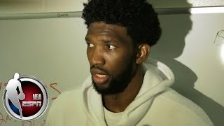 Joel Embiid on 76ers-Celtics rivalry: 'They always kick our ass'  | NBA Interview
