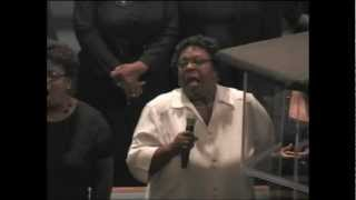 "Lenore Davis -""God Is"" (Deacon Virgil Williams, Sr. Homegoing)"