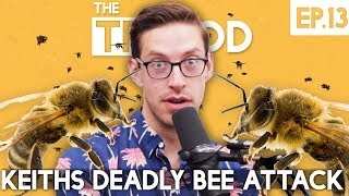 Keith's Deadly Bee Attack - The TryPod Ep. 13