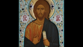 Вышивка оклада для иконы