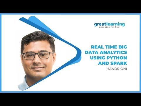 Learn Real Time Big Data Analytics Using Python and Spark: Hands-On | Learn Python and Spark