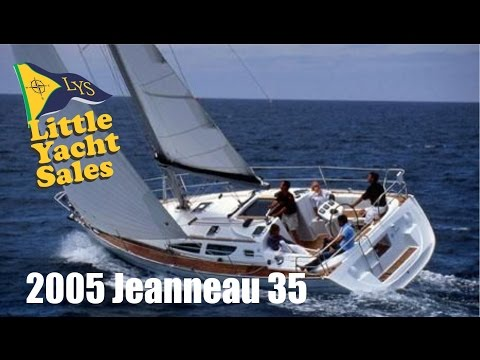SOLD!!! 2005 Jeanneau 35 sailboat for sale at Little Yacht Sales, Kemah Texas