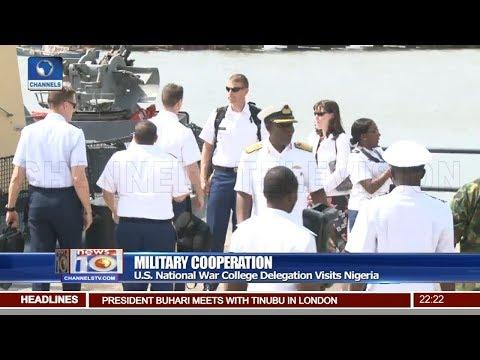 U.S. National War College Delegation Visits Nigeria Pt.2 |News@10| 15/04/18
