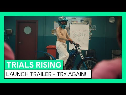 Trials Rising Launch-Trailer - Try Again! | Ubisoft [DE]