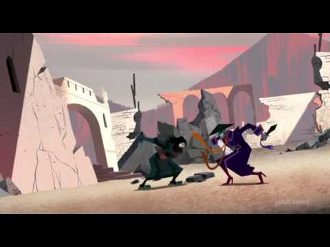 Samurai Jack vs Scaramouch The Scatman