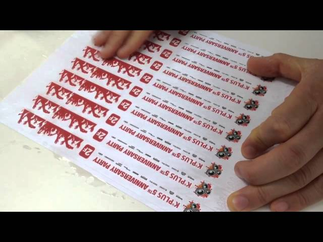 inkjet printable tyvek wristband