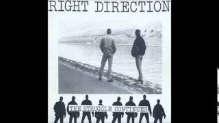 Right Direction - The Struggle Continues. full EP 1991
