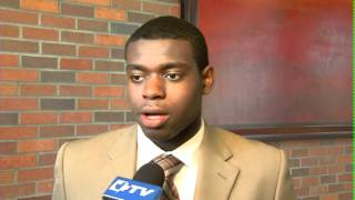 Ford Draft Central: NHL Draft Combine - Malcolm Subban