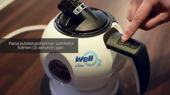 Opastusvideo WellO2:sen käyttöön
