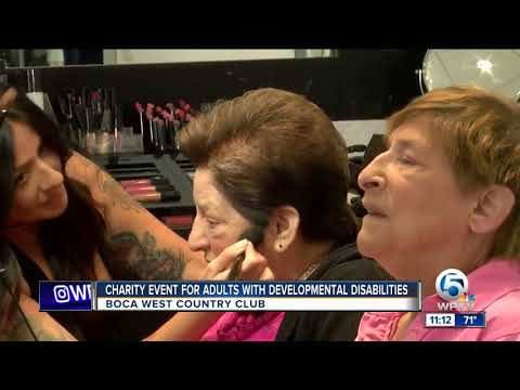 Charity event held for adults with developmental disabilities